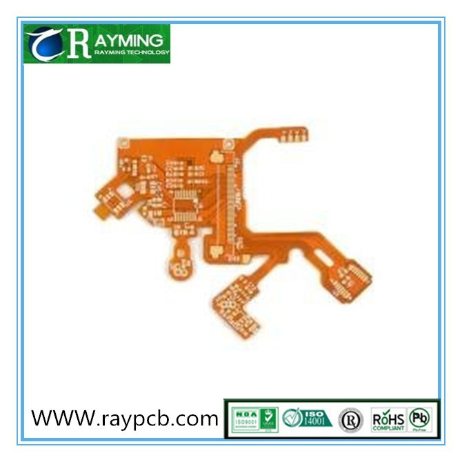 OEM FPCB Halogen Free YEllow solder mask