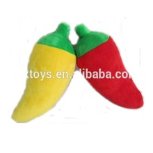 Promotional stuffy hot pepper shape plush toys