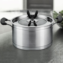 New style Stainless Steel steamer Cookware saucepan casserole pan utensils
