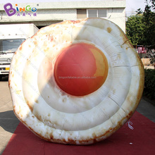 Customized 2.5M diameter giant inflatable fried eggs for decoration