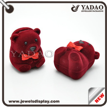 Romantic animal shape gift box ring boxes for sale