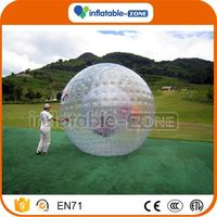 Customized soccer zorb ball child grass zorb
