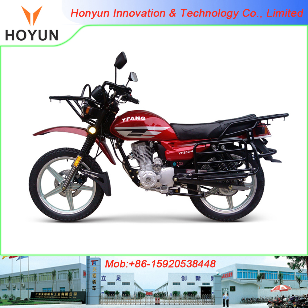 Hot sale in South America HOYUN PEGASUS CGL CGL125 YF200-4 off-road style motorcycles