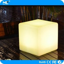 Waterproof PE material led liquor cabinet wifi led cueb seat / app control LED rge cube /led cube light made in China