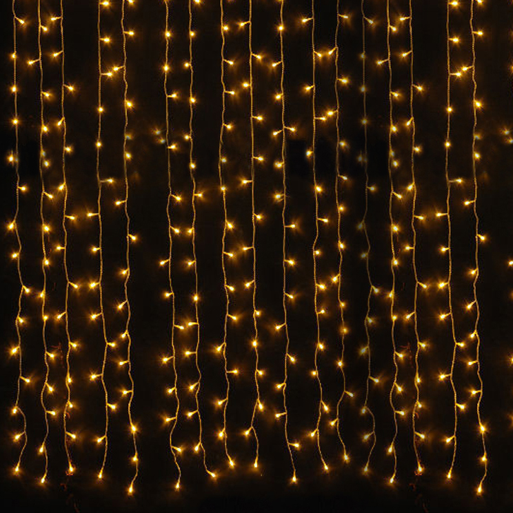 100% copper wire light curtain indoor decoration fairy curtain light