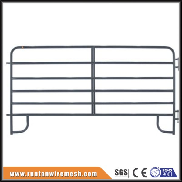 Heavy duty 10ft hot dipped galvanised 6 rail cattle hurdle