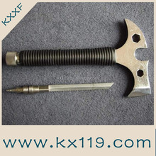 Hi-Q high quality Emergency rescue use steel Metal handle axe