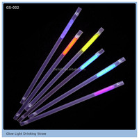 From GMTlight Plastic Drinking Glow Straw