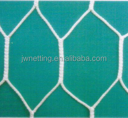 Super strong Hexagon mesh Knotless Sport Net