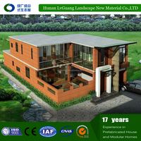Factory directly sale cheap house prefab luxury bungalow house plans