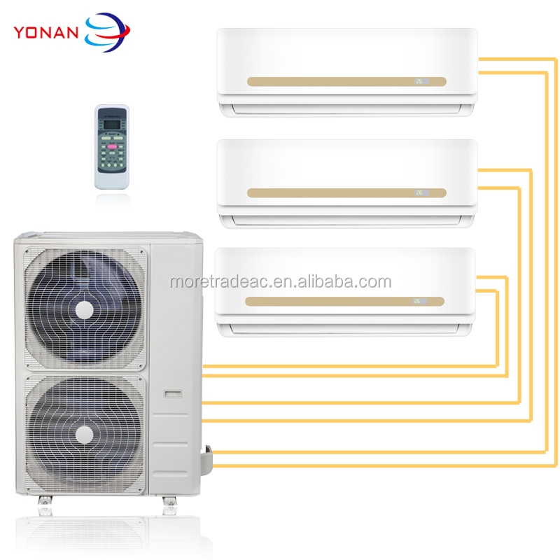Cooling And Heating R410a Gas Inverter Multi Zone Split Air Conditioner