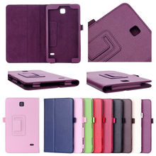 2 fold stand leather smart case for samsung galaxy tab 4 8.0