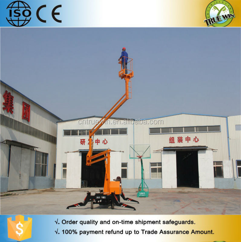 Hot sale boom lift for street light maintain