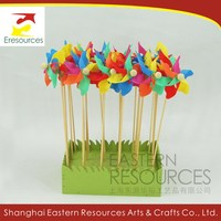 Small Plastic Garden Decorative Windmills