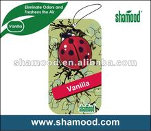 Customized Paper Air Freshener For Gift Promotion