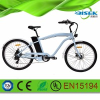 2016 new design 26inch beach cruiser 26inch electric bike for sand use