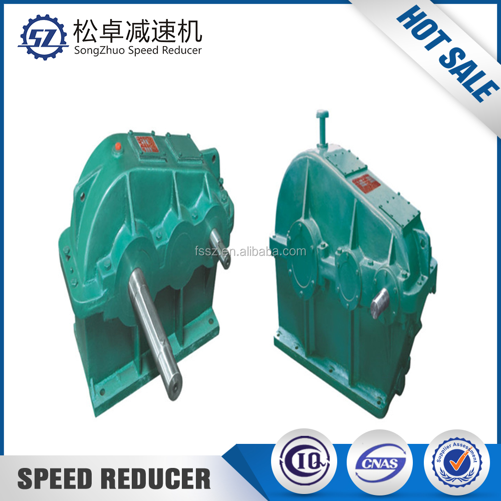 Cylindrical hydraulic worm gear slew drive gearbox reducer