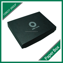 LUXURY FOLDABLE MAGNETIC CLOSURE GIFT BOX MATT BLACK CARDBOARD GIFT BOX
