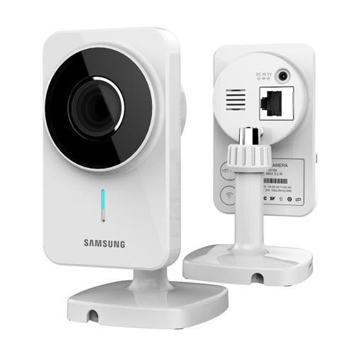 Samsung SNH-1011N SmartCam Wireless Video Monitoring IP Camera with Wi-Fi Direct Setting - New Updated Version 2.0 / Manufacture