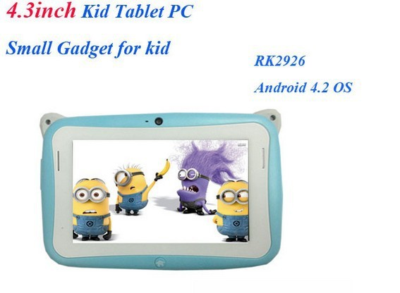 4.3 Inch Kids Tablet RK2926 for Children Playing and Learning