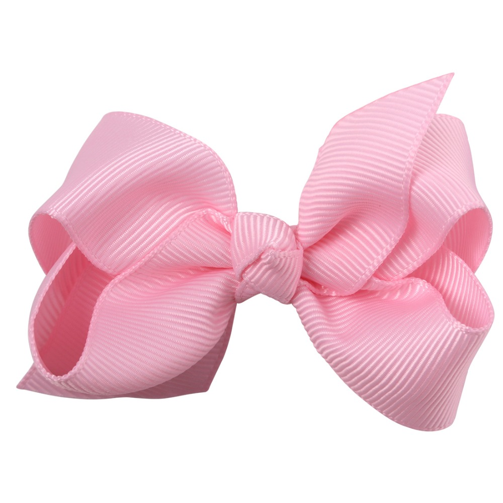 "32 Colors 3"" ribbon Hair Bows with Alligator clip Hairgrips for women kids girls"
