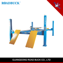 RoadBuck China factory auto repair 4tons four 4 post car lift hydraulic car lift