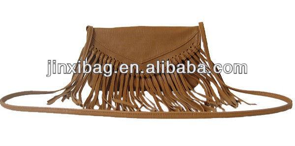 Cute Girls Fringe Bags Sling Bag With Long Shoulder Strap - Buy ...