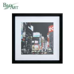 Plastic picture frame for modern decoration