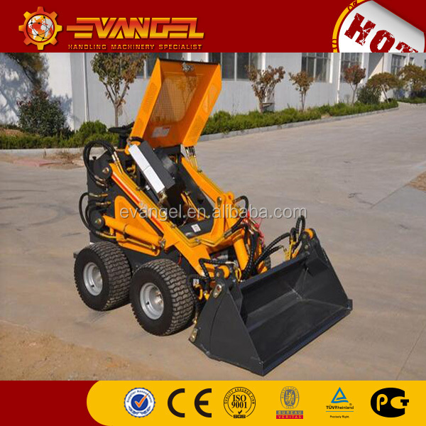 Hot small skid steer loader for sale HYSOON Mini Skid Steer Loader HY380