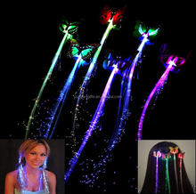 cheap colorful party supply butterfly led hair light up led hair