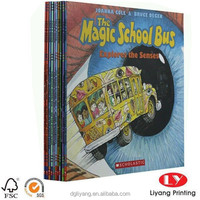 custom magic school bus high quality vivid children 3D Book for story Printing service alibaba china