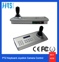 Max 64 Pcs Control Confernce Camera, PTZ Keyboard Joystick Controller For SONY VISCA