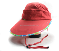 Made in China foldable sun hats
