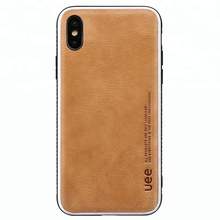 Business Style Genuine Leather Mobile Phone Case