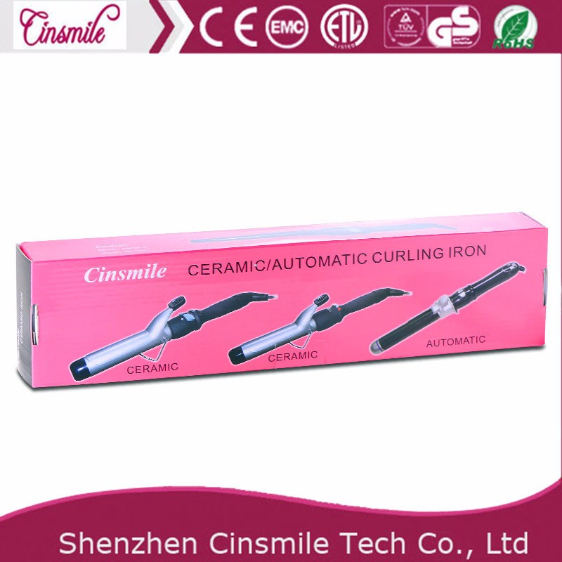 Professional electric automatic ceramic hair curler
