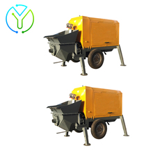 Automatic wall cement wet sand mortar plaster wall spraying machine