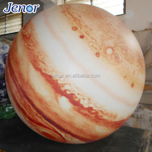 Helium Decoration Inflatable Jupiter Planet Balloon with Lighting