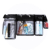 4 Different Clear PVC Messenger Transparent Bag With Button All In One Belt For Makeup Artist Work