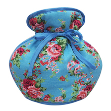 Colorful teapot cover made by cotton fabric