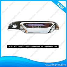 High Quality Fit 97-03 F150/97-07 F250/97-07 Explorer Sport Trac Car Tail Chrome Door Handle Cover