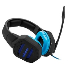 New LED light gaming stereo headphone headset for PS4 Xbox one Mac Smartphones table with microphone