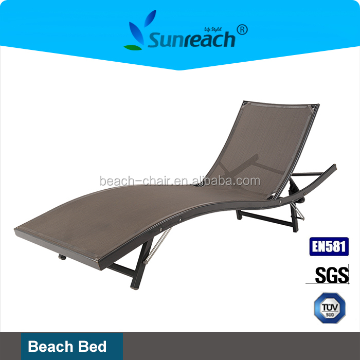 Aluminum Ocean Beach Style Day Beds for swimming pool