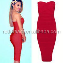 sleeveless elegant women bandage dress 2013 fashion women dress