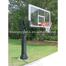 10mm 12mm toughened glass basketball backboard tempered glass