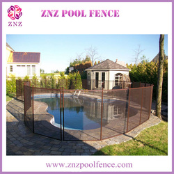 ZNZ trade assurance OEM ODM factory portable safety swimming used mesh fence