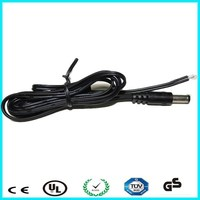 Low smoke halogen free dc barrel plug cable for generator