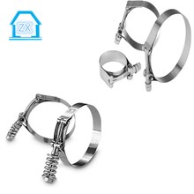 stainless steel one-head powful torque loop rod clamps