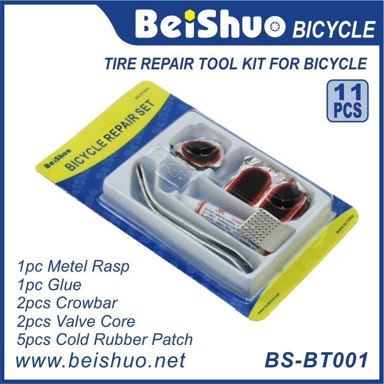 1set Cycling Bicycle Bike Repair Fix Kit Flat Rubber Tire Tyre Tube Patch Glue Hot New Arrival