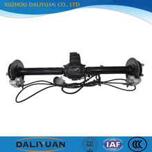 chain drive rear axle assembly for tricycle for electric tricycle
