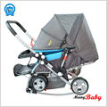 2015 light weight baby carrier baby buggy stroller with horse rocking